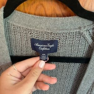 American Eagle Outfitters Sweaters - American Eagle Outfitters Grey Cardigan
